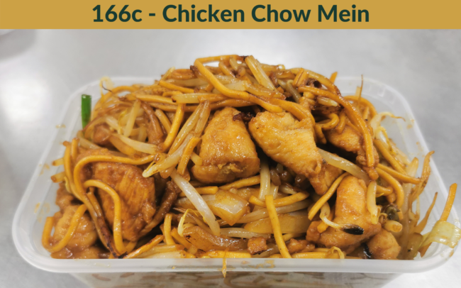 The Bamboo Exmouth - Chicken Chow Mein