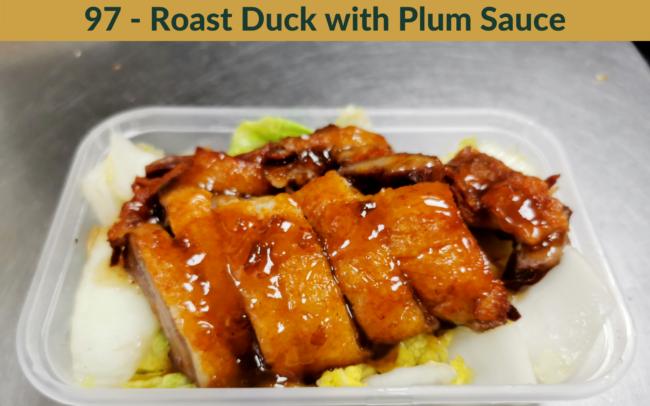 The Bamboo Exmouth - Roast Duck Plum Sauce